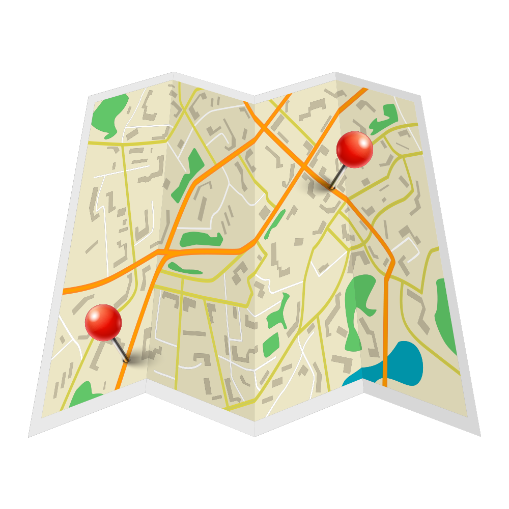 Map icon for PlacesForBikes initiative